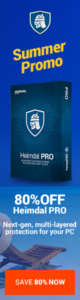 Heimdal PRO guards you against attacks antivirus can't block!