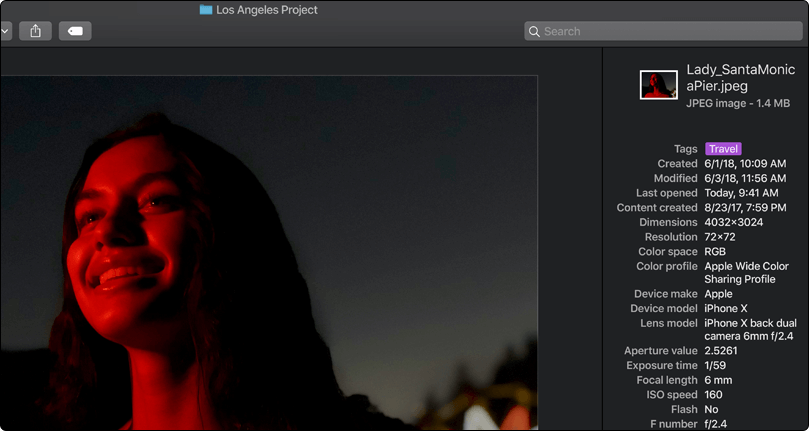 Quick Action, Gallery View and Full Metadata