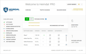 Heimdal PRO - Patching System