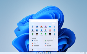 Icons and Start Button windows11