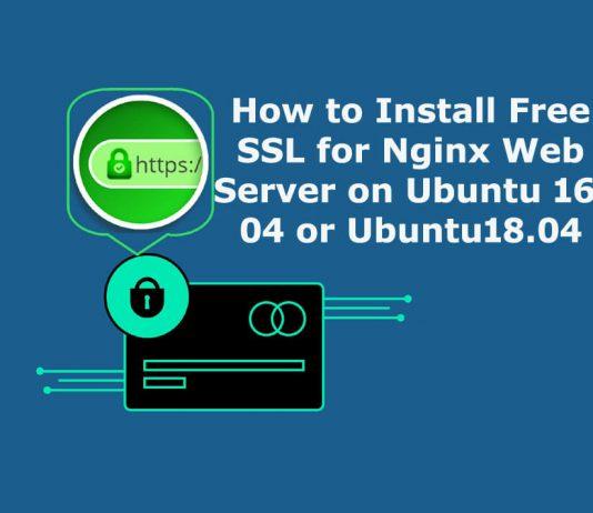 Install Free SSL for Nginx Web Server on Ubuntu 16.04