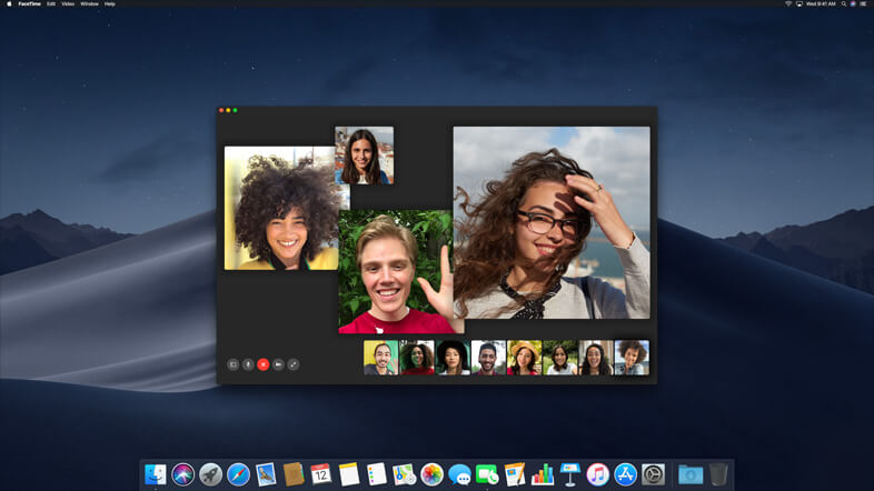 New FaceTime Feature In macOS Mojave