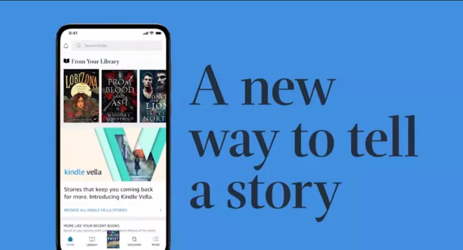 Amazon's Kindle Vella Gives A New Platform To Readers