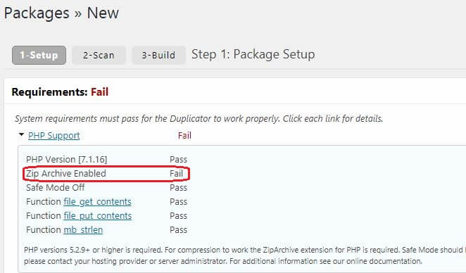how to install ziparchive php extension on godaddy