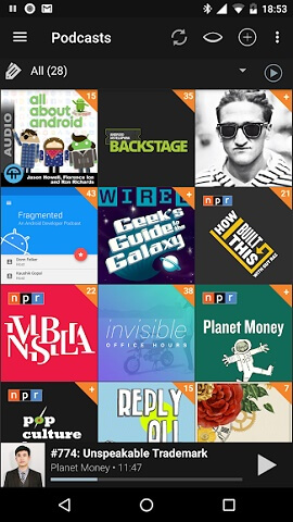 Podcast Addict - 10 Lesser Known but Useful Android Apps