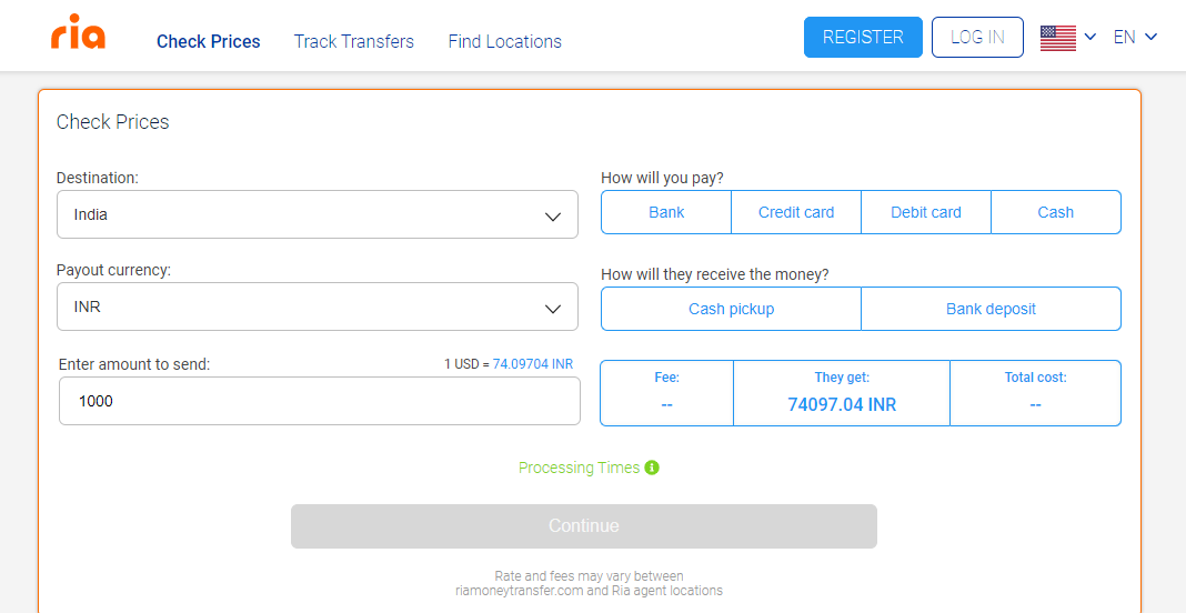 How To Send And Receive Money With Ria Money Transfer?
