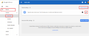 How to Enable AdSense Auto Ads