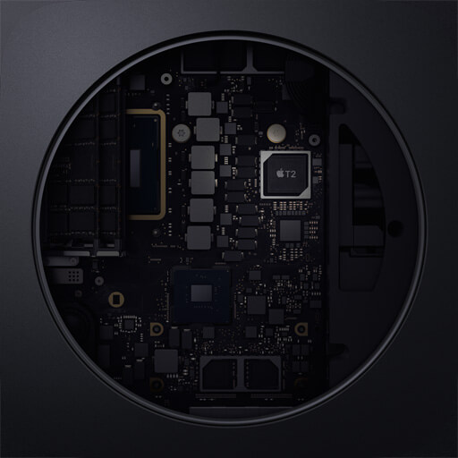 T2 Security Chip in the New Mac mini