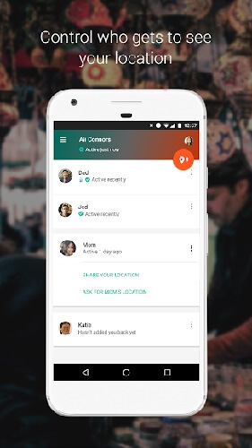 Trusted Contacts - One of the 10 lesser known but useful android app