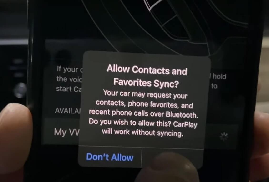 allow sync