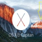 Downgrade from OSX El Capitan to Mountain Lion