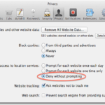 How to turn off Cross-Site Tracking in Safari