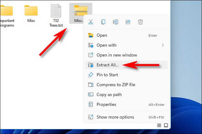 How To Zip And Unzip Files On Windows 11?